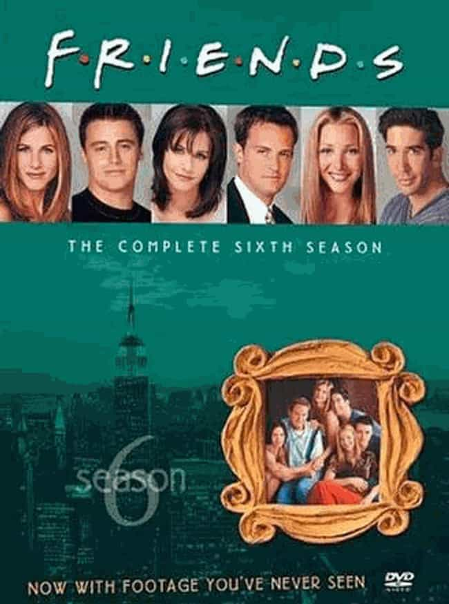 Friends Season 6 is listed (or ranked) 5 on the list Every Season of Friends, Ranked
