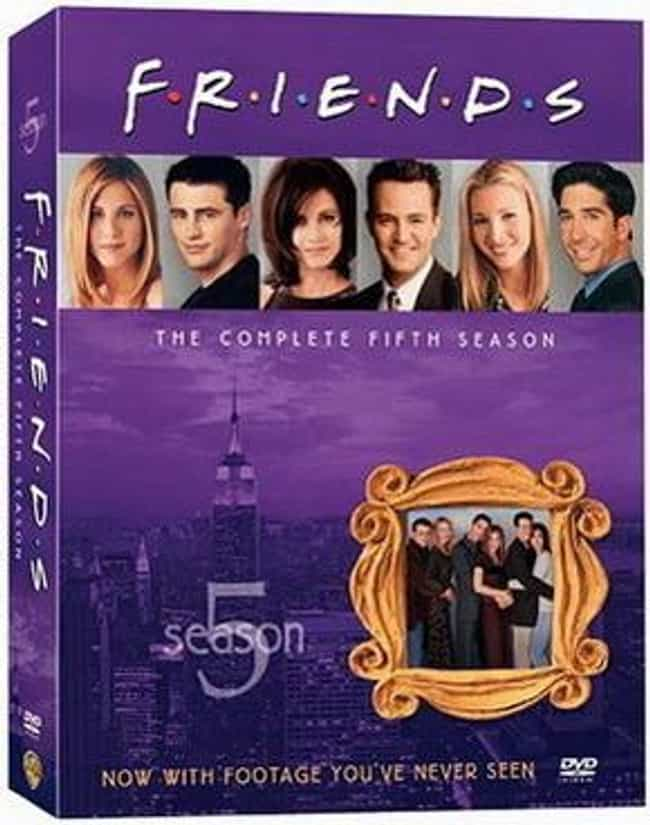 Friends Season 5 is listed (or ranked) 1 on the list Every Season of Friends, Ranked