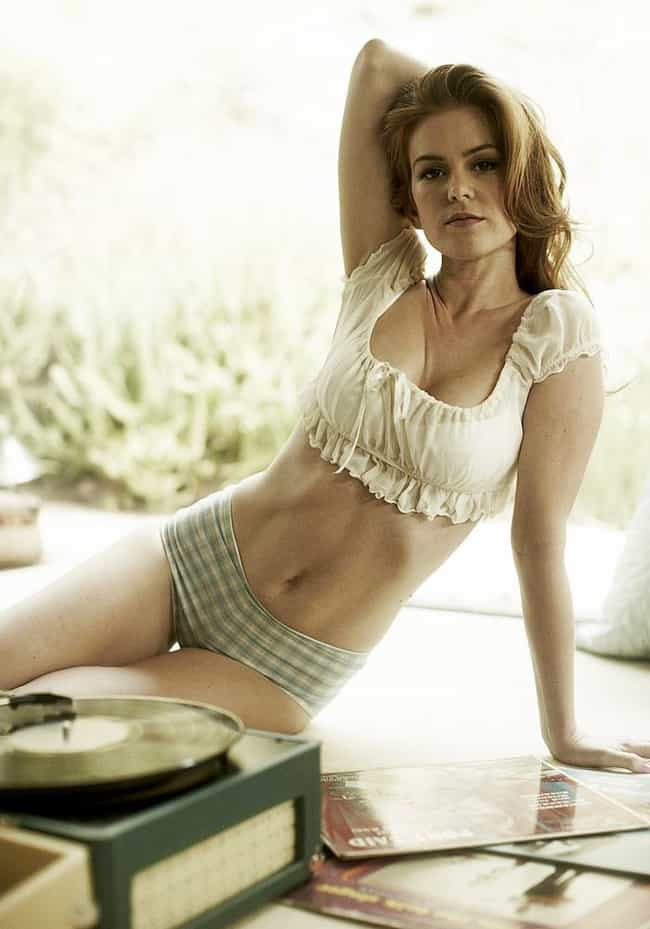 Isla Fisher is listed (or ranked) 3 on the list The Most Beautiful Overlooked Celebrity Women