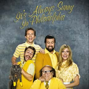 It's Always Sunny in Philadelp is listed (or ranked) 8 on the list The TV Shows Most Loved by Hipsters