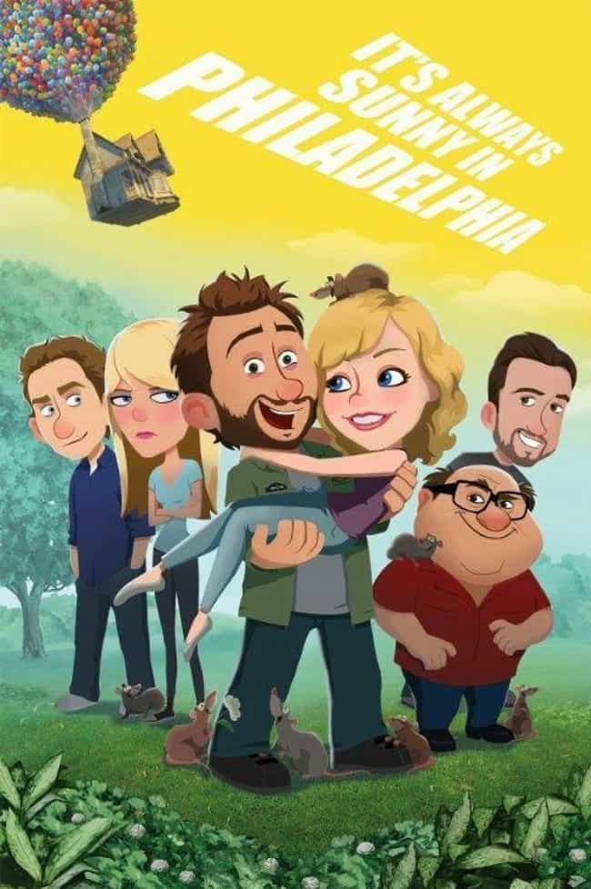 It's Always Sunny in Philadelp... is listed (or ranked) 6 on the list What Your Favorite Sitcoms Would Look Like as Cartoons