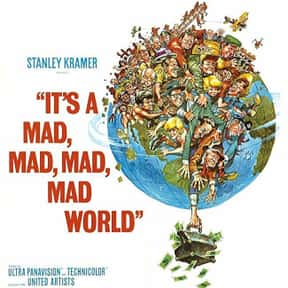 It's a Mad, Mad, Mad, Mad  is listed (or ranked) 17 on the list The Best Movies of the '60s