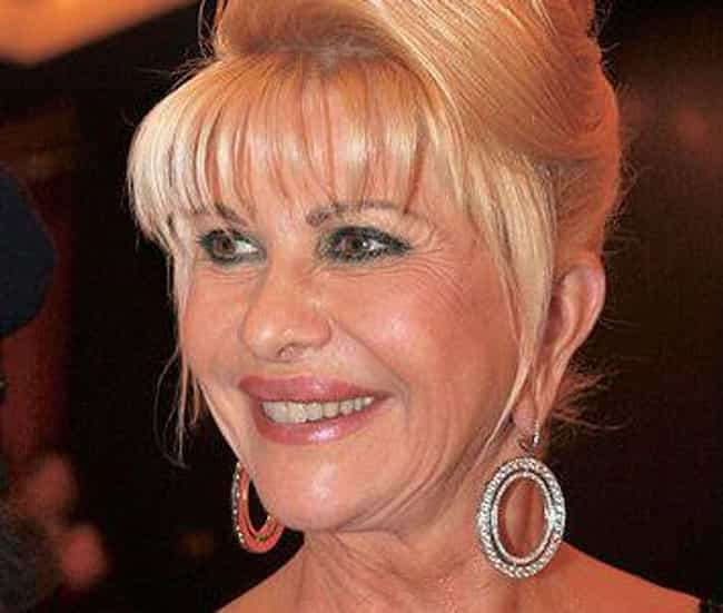 Ivana Trump is listed (or ranked) 4 on the list 28 Famous Divorcées Who Kept Their Ex-Husbands' Names