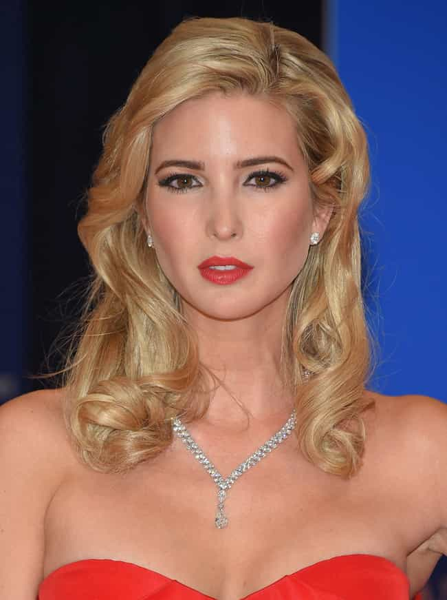Ivanka Trump is listed (or ranked) 1 on the list Famous The Chapin School Alumni