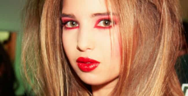Ivanka Trump is listed (or ranked) 4 on the list 12 Celebs Who Went Through A Major Goth Phase