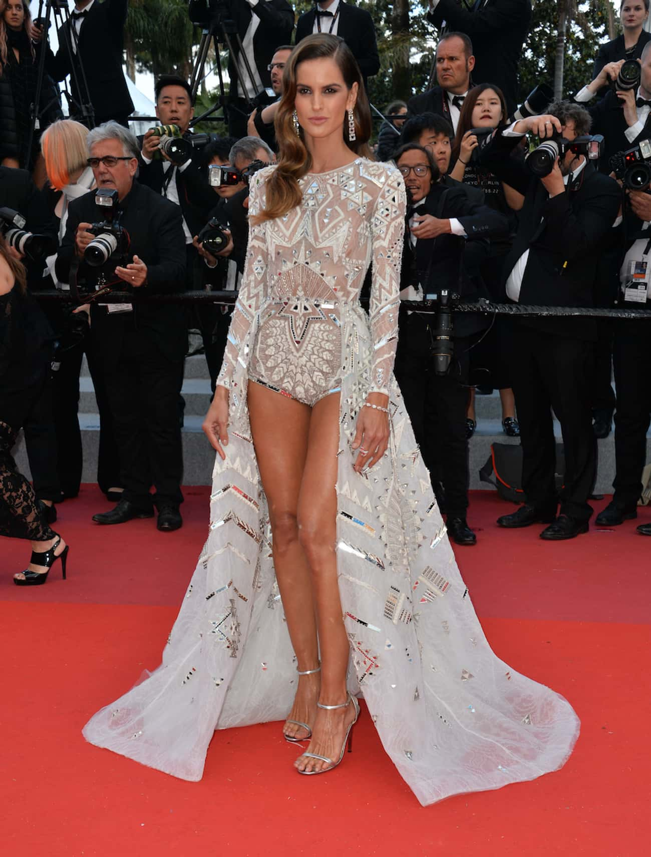 Izabel Goulart is listed (or ranked) 2 on the list Which Celeb Has The Most Beautiful Legs?
