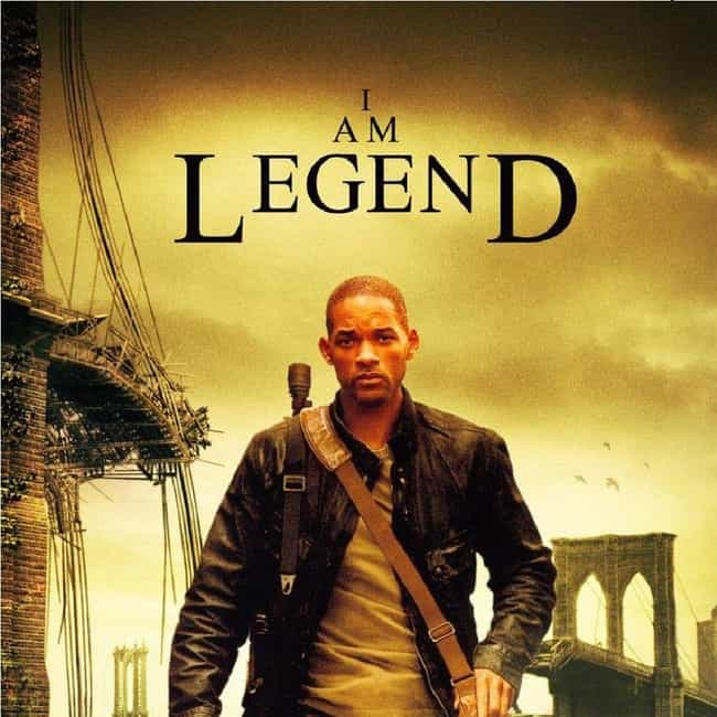 """I Am Legend is listed (or ranked) 4 on the list Shows & Movies to Watch If You Love """"The Walking Dead"""""""