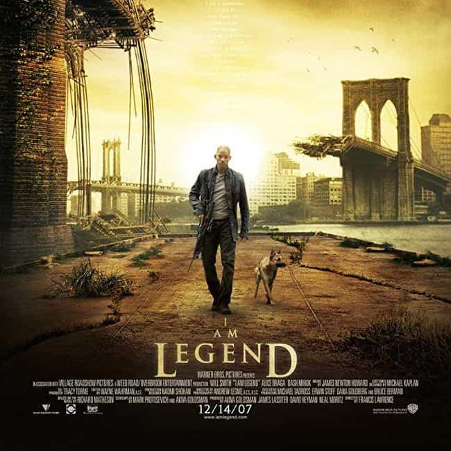 I Am Legend is listed (or ranked) 4 on the list The Best Recent Survival Shows & Movies