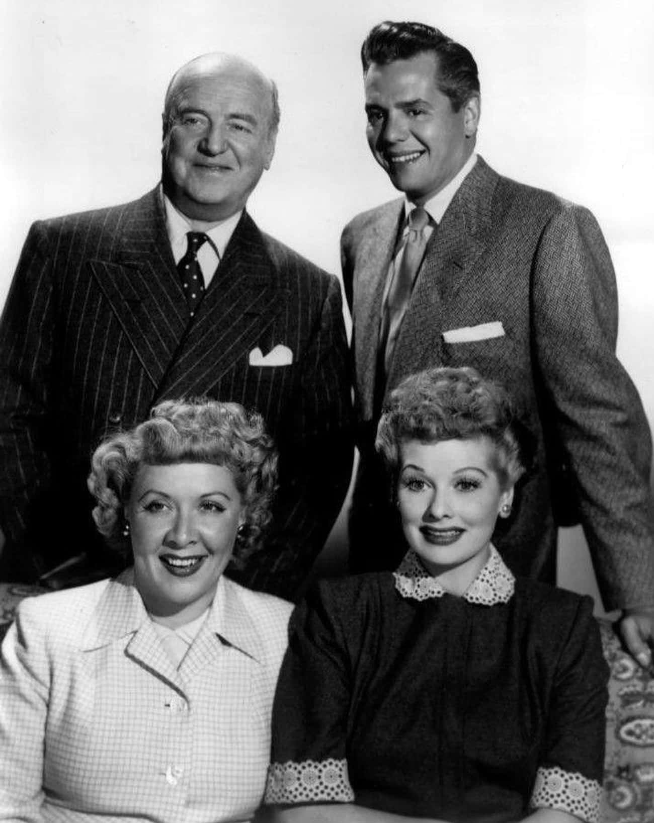 I Love Lucy is listed (or ranked) 1 on the list The Most Popular TV Shows Of The 1950s