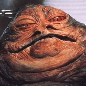 Jabba the Hutt is listed (or ranked) 7 on the list The Most Hated Star Wars Villains