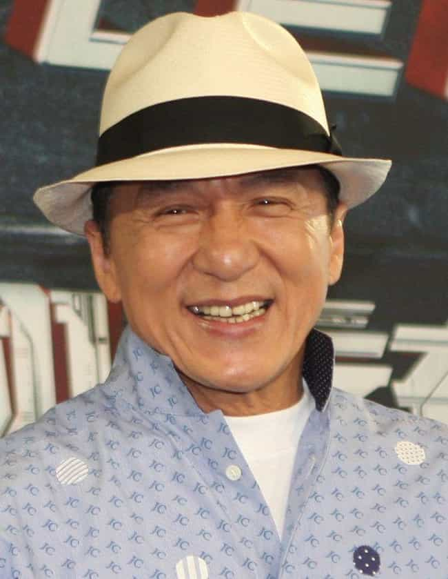 Jackie Chan is listed (or ranked) 4 on the list 42 Famous Actors Who Were Injured on Film Sets