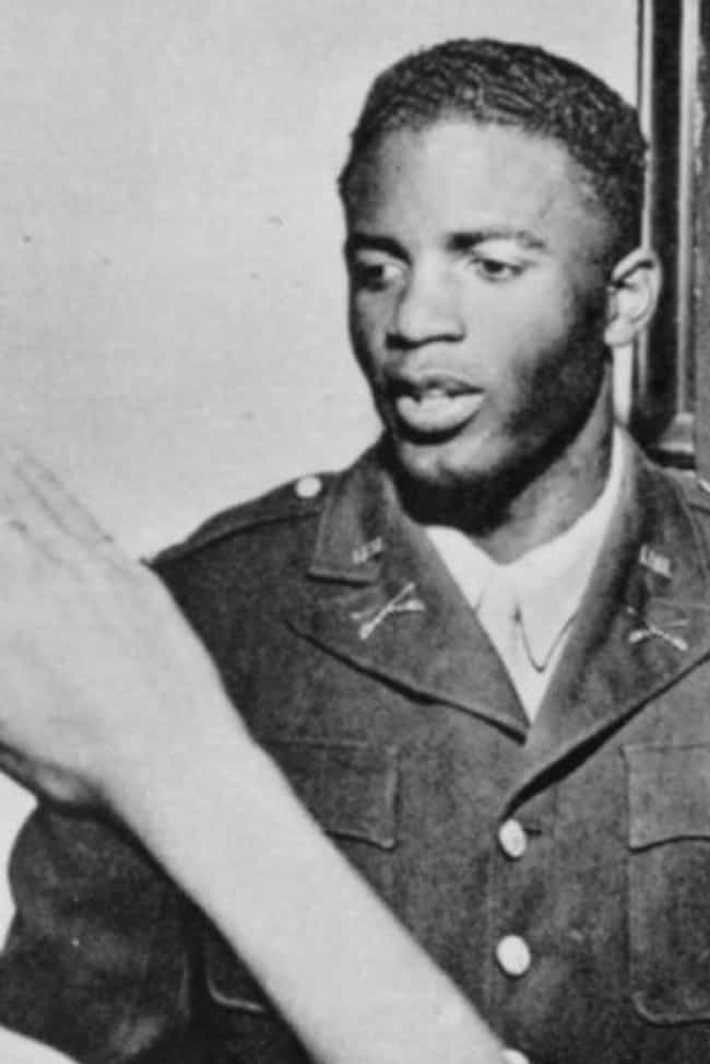 Jackie Robinson is listed (or ranked) 2 on the list Athletes Who Served in the Military