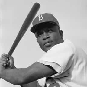 Jackie Robinson is listed (or ranked) 19 on the list The Greatest Baseball Players Of All Time