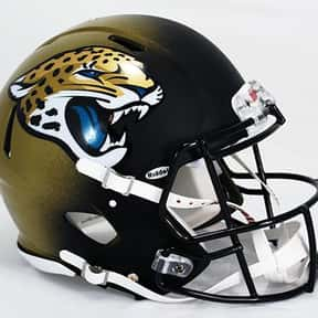 Jaguars is listed (or ranked) 9 on the list The Best Current NFL Helmets