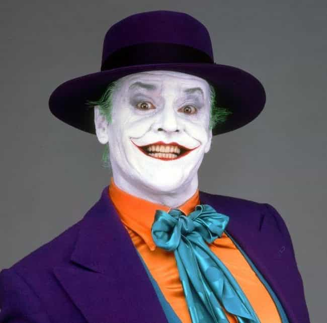 Jack Nicholson is listed (or ranked) 4 on the list All 20+ Actors Who Played Joker, Ranked Best To Worst By Fans