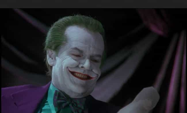 Jack Nicholson is listed (or ranked) 2 on the list The Best Actors Who Played Batman Villains On Film