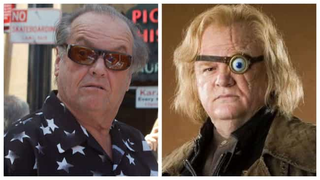 Jack Nicholson is listed (or ranked) 4 on the list Who Would Star In An Americanized 'Harry Potter'?