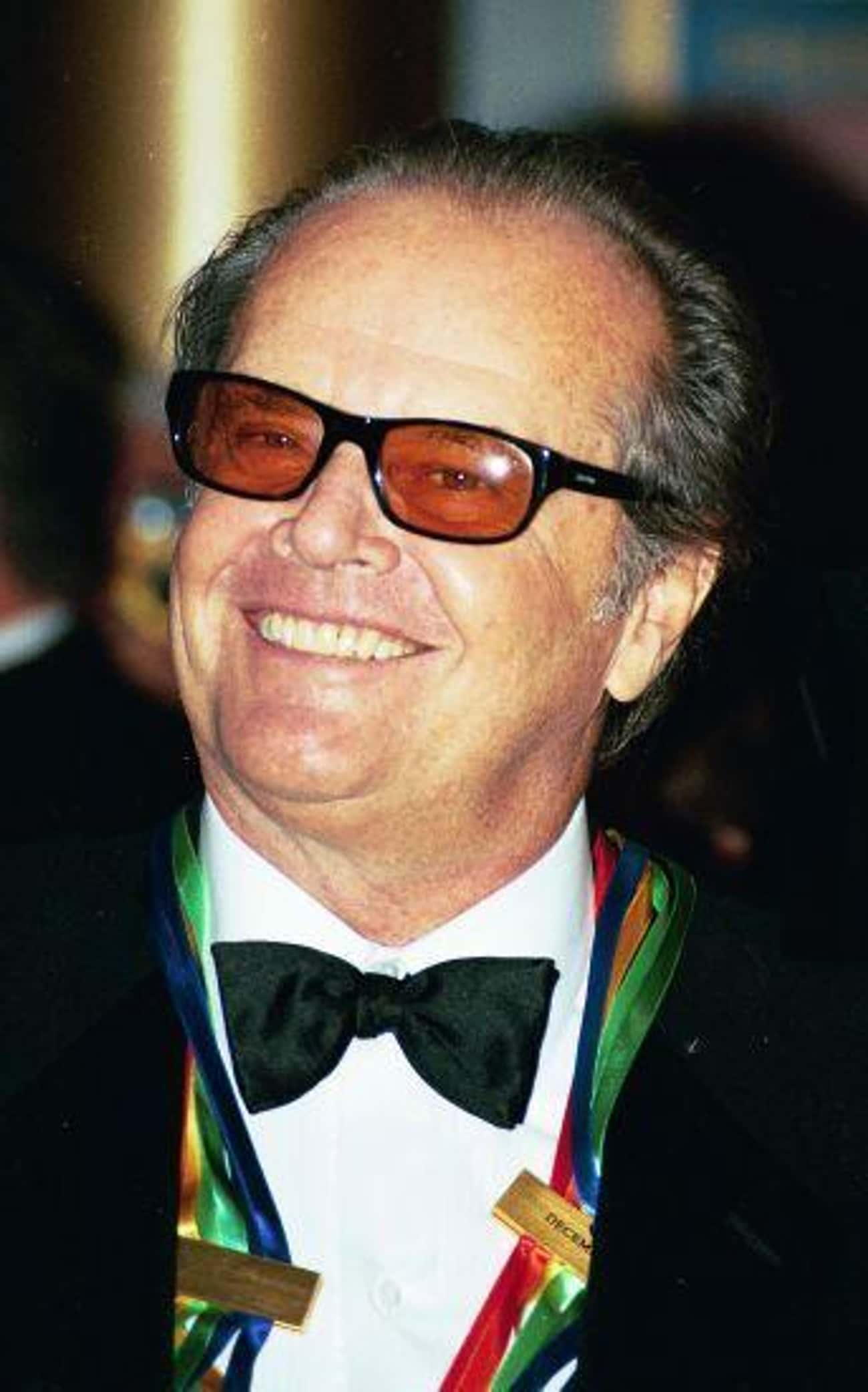 Jack Nicholson is listed (or ranked) 4 on the list 17 Famous People Who Were Raised by Their Grandparents