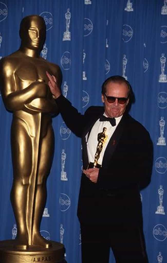 Jack Nicholson is listed (or ranked) 4 on the list People Who Won Oscars for the Wrong Film