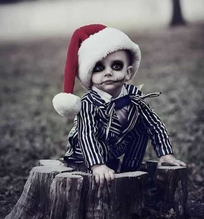 Jack Skellington is listed (or ranked) 4 on the list 31 Kids Who Were Forced Into Amazing Halloween Costumes