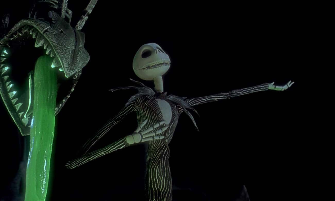 Jack Skellington From 'The Nightmare Before Christmas'