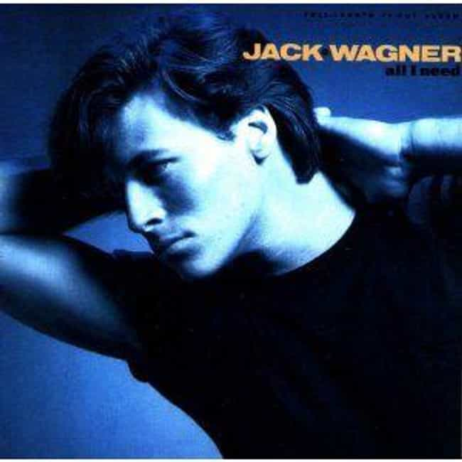 Jack Wagner is listed (or ranked) 3 on the list Which '80s Actor Or Actress Had The Most Impressive Album?