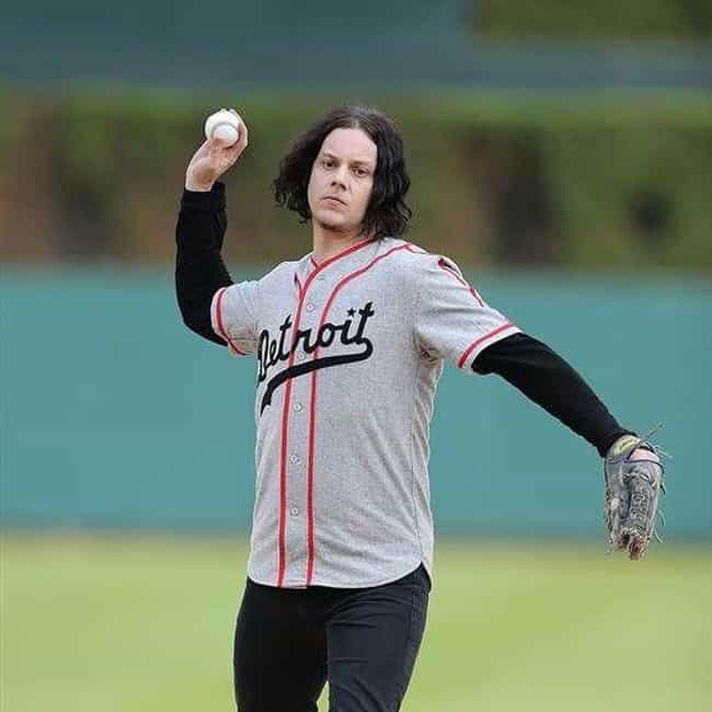 Jack White is listed (or ranked) 3 on the list Celebrity Tigers Fans