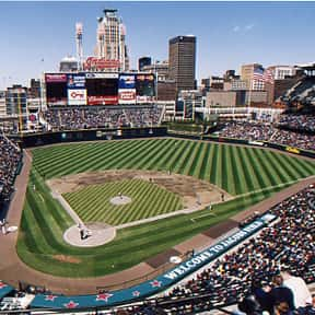Progressive Field is listed (or ranked) 19 on the list The Best MLB Ballparks