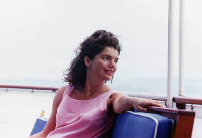 Jacqueline Kennedy Onassis is listed (or ranked) 4 on the list 18 Celebrities Who Are Secretly Smokers