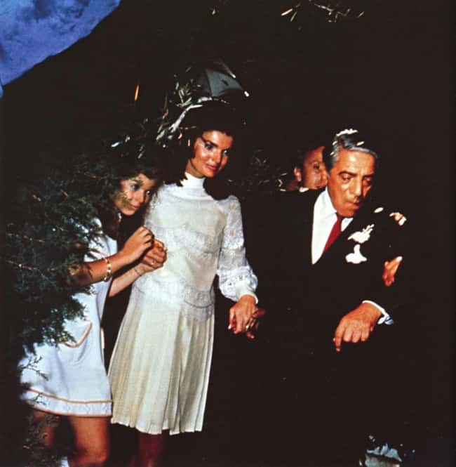 Jacqueline Kennedy Onassis is listed (or ranked) 10 on the list 48 Famous Couples with Huge Age Differences