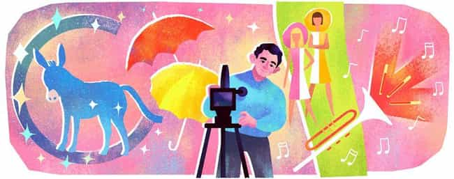 Jacques Demy is listed (or ranked) 1176 on the list Every Person Who Has Been Immortalized in a Google Doodle