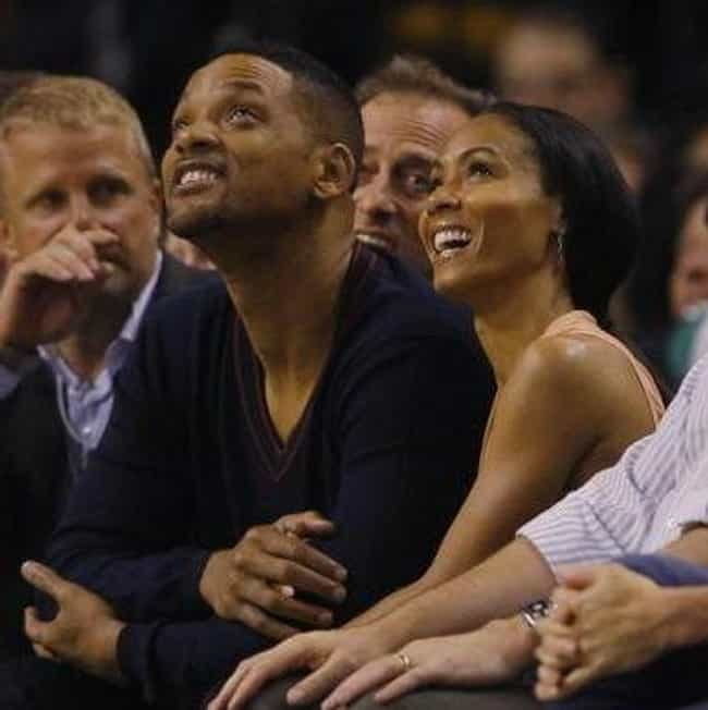 Jada Pinkett Smith is listed (or ranked) 4 on the list Celebrity 76er Fans