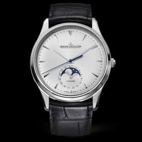 Jaeger-LeCoultre is listed (or ranked) 8 on the list The Best Watch Brands