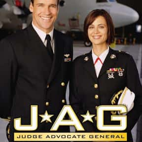 JAG is listed (or ranked) 6 on the list The Best 2000 CBS Shows