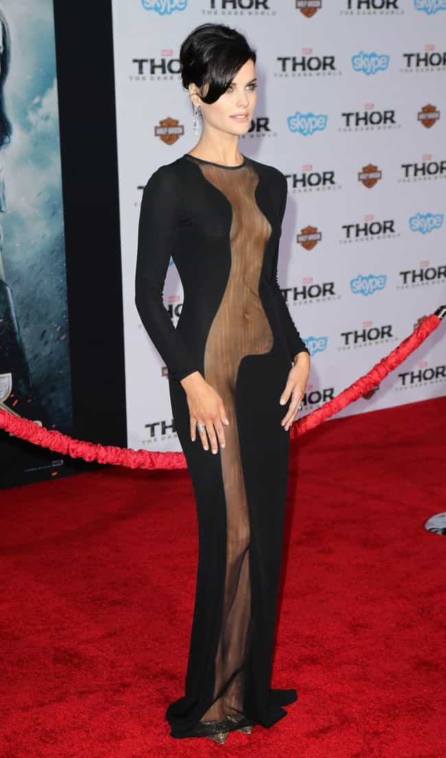 Jaimie Alexander is listed (or ranked) 1 on the list The Hottest Babes in Cut Out Dresses