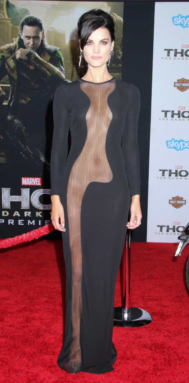 Jaimie Alexander is listed (or ranked) 1 on the list The Most Shockingly Over-the-Top Celebrity Sheer Dresses