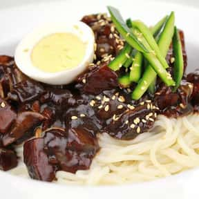 Jajangmyeon is listed (or ranked) 6 on the list The Best Korean Food