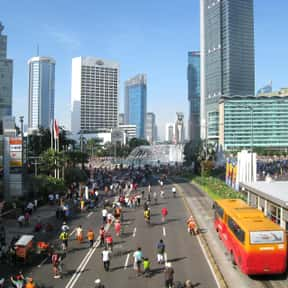 Jakarta is listed (or ranked) 15 on the list The World's Most Densely Populated Places