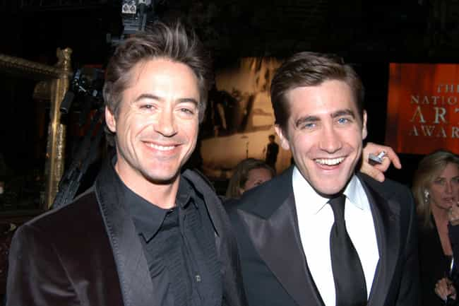 Jake Gyllenhaal is listed (or ranked) 4 on the list Famous Friends of Robert Downey Jr.
