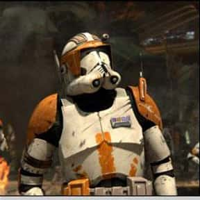 Commander Cody is listed (or ranked) 21 on the list Vader to Binks: Best to Worst Star Wars Characters