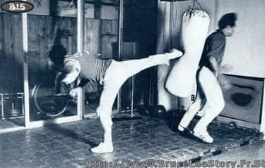 James Coburn And The Punching Bags