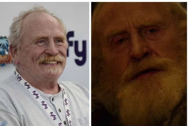 James Cosmo is listed (or ranked) 4 on the list Here's Where You've Seen Everyone In 'Outlaw King' Before