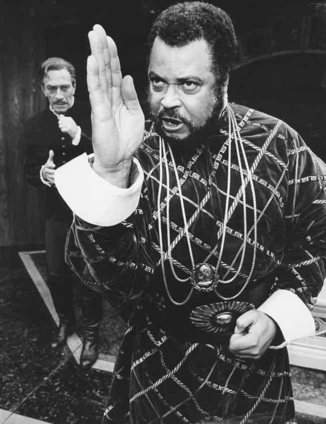 James Earl Jones is listed (or ranked) 2 on the list 30 Actors Who Have Played Othello