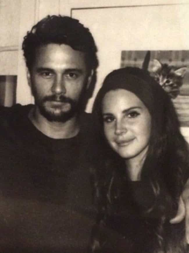 James Franco is listed (or ranked) 3 on the list Lana Del Rey Loves And Hookups