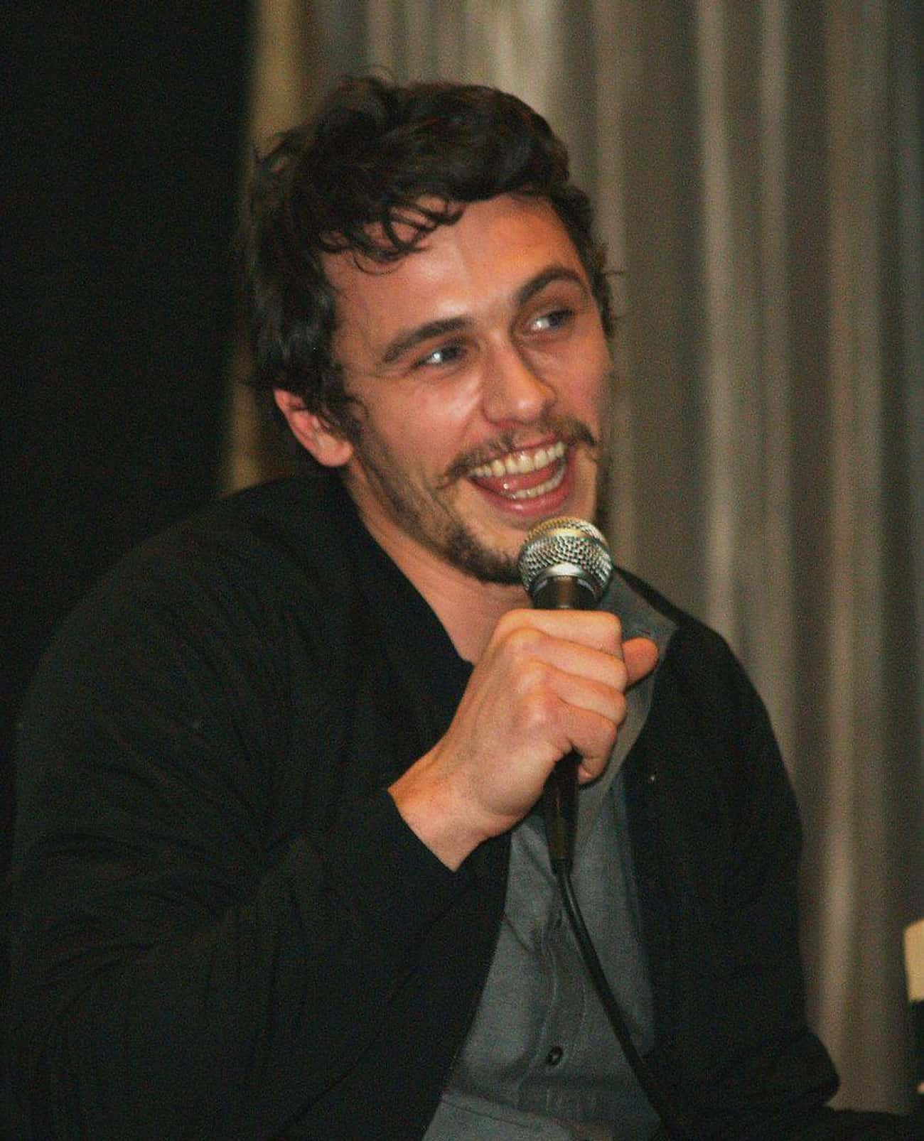 James Franco is listed (or ranked) 4 on the list Celebrities Who Once Worked at McDonald's