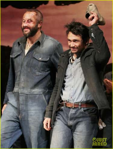 James Franco & Chris O'Dow is listed (or ranked) 2 on the list Famous Actors Who Starred on Stage Together