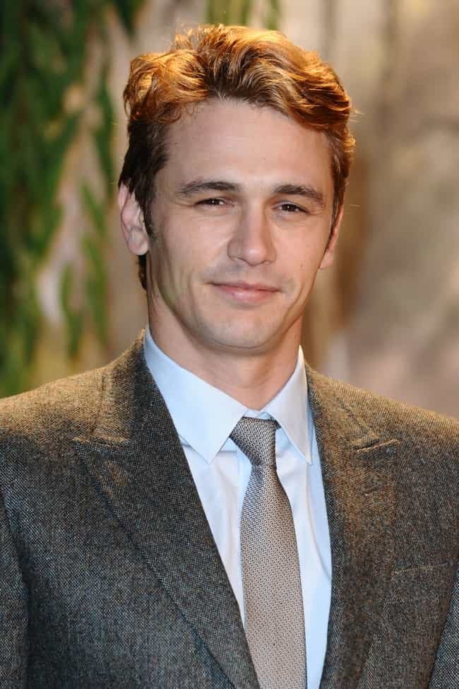 James Franco is listed (or ranked) 3 on the list Famous Male Professors