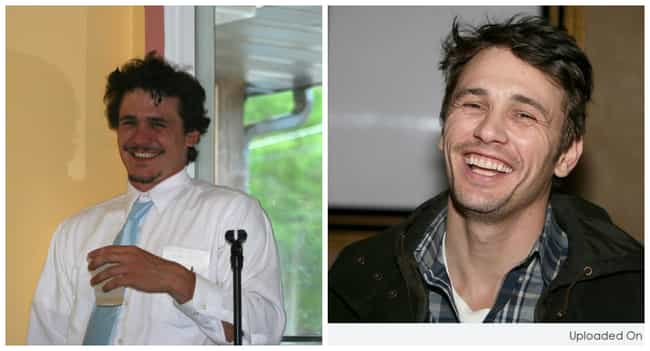 James Franco is listed (or ranked) 6 on the list 40 Uncanny Celebrity Lookalikes That Are Hard to Believe