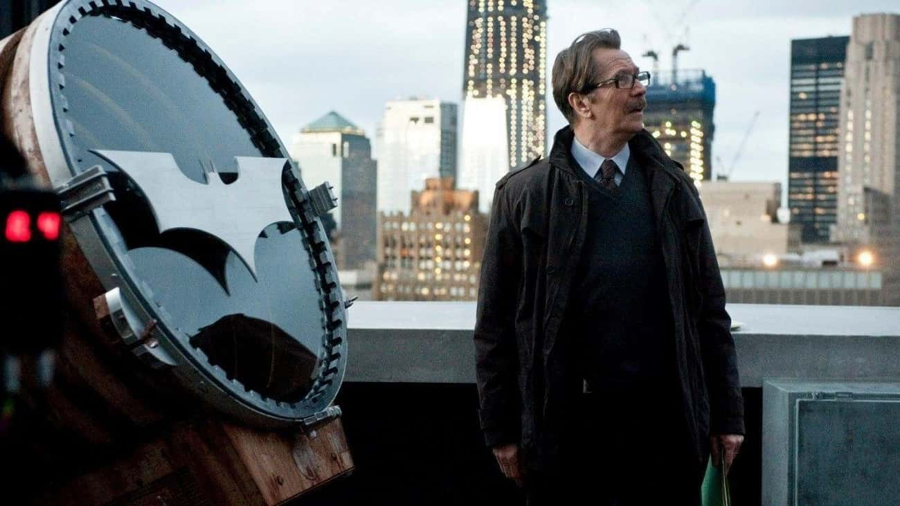 The 'Dark Knight' Trilogy - Th is listed (or ranked) 2 on the list 16 Performances That Prove Gary Oldman Is Hollywood's Greatest Shapeshifter