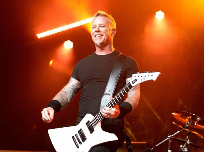 James Hetfield is listed (or ranked) 1 on the list Musicians Who Went To Rehab
